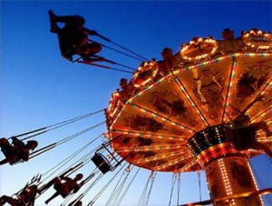Illinois state fair carnival
