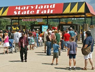 Fairgrounds in Maryland