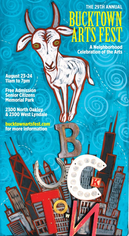 Bucktown arts fest festival 2014 in chicago illinois August