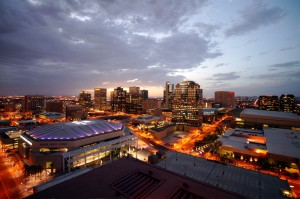 Phoenix AZ festival events and sports stadium venue