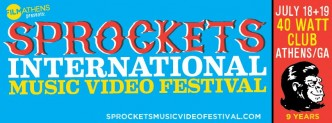 Sprockets Music Video Festival in Athens GA 2014