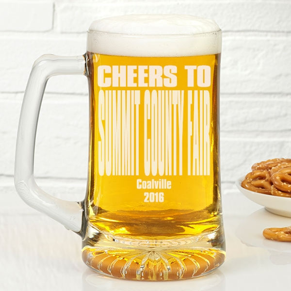 Summit County Fair beer mug 2016