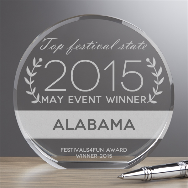 Alabama festivals and events winner AL August award